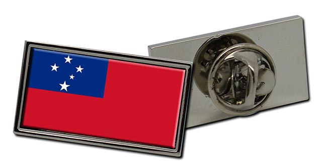 Samoa Flag Pin Badge