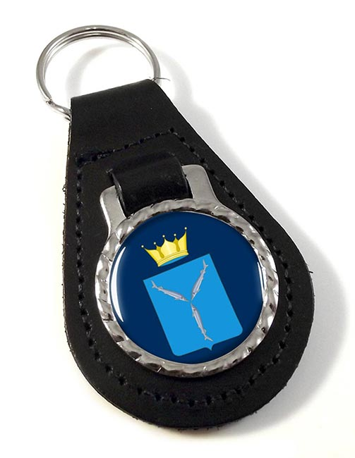 Saratov Oblast Leather Key Fob