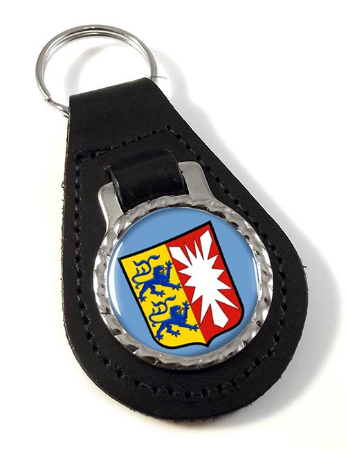 Schleswig-Holstein (Germany) Leather Key Fob