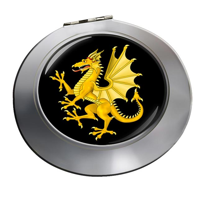 Somerset Dragon Round Mirror