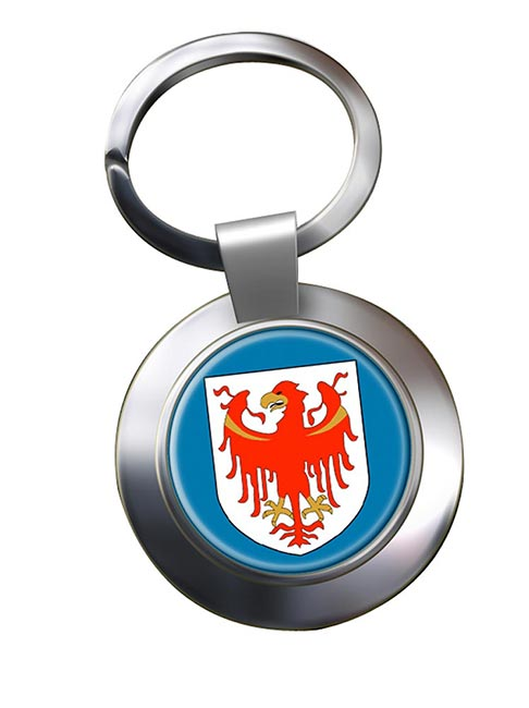 South Tyrol Alto Adige (Italy) Metal Key Ring