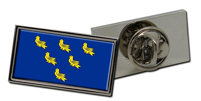 Sussex (England) Flag Pin Badge