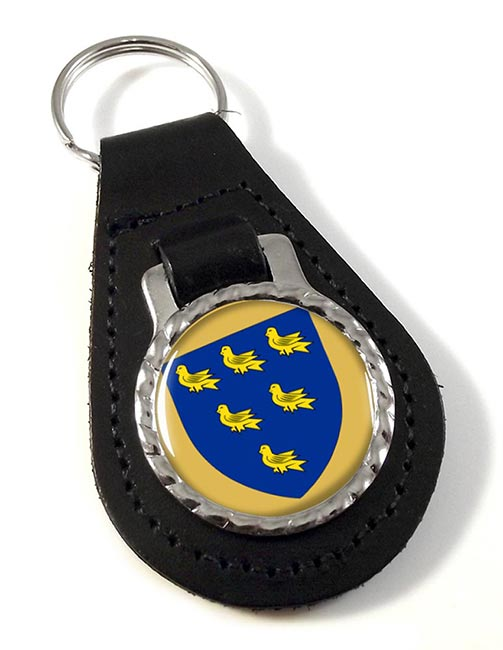 Sussex (England) Leather Key Fob