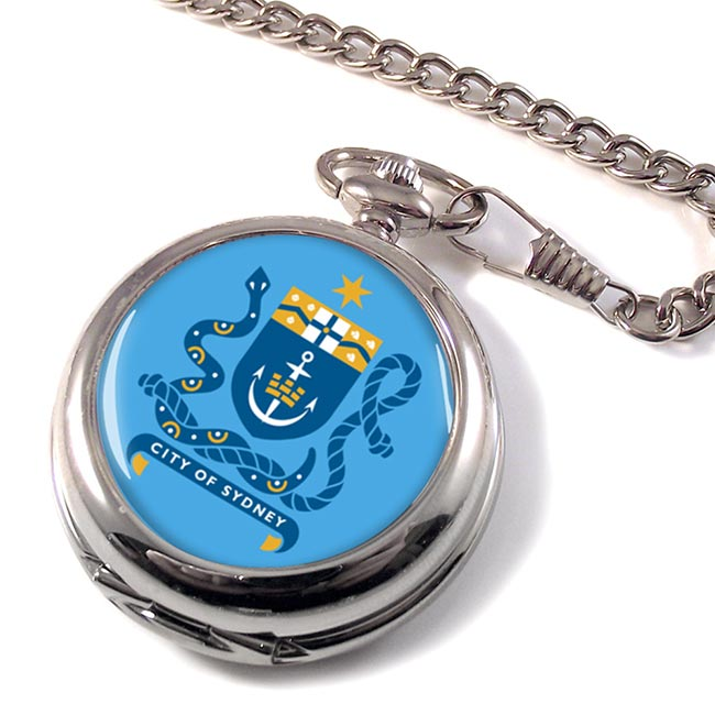 Sydney Australia Pocket Watch