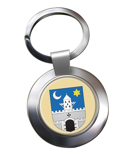 Szombathely Metal Key Ring