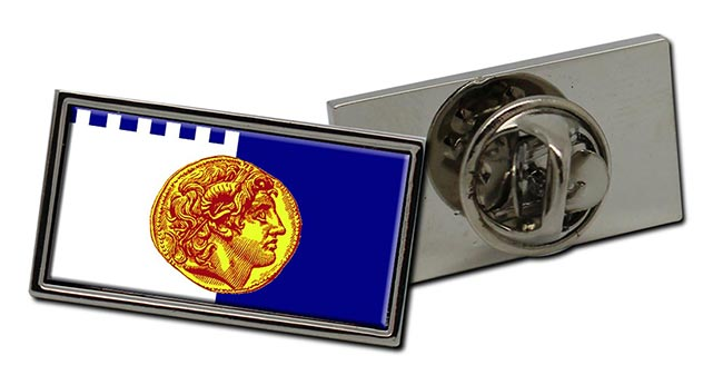 Thessaloniki  (Greece) Flag Pin Badge