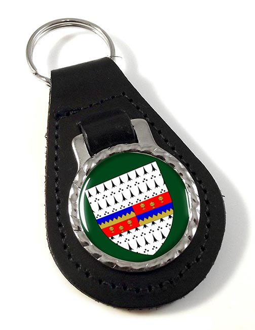 County Tipperary (Ireland) Leather Key Fob