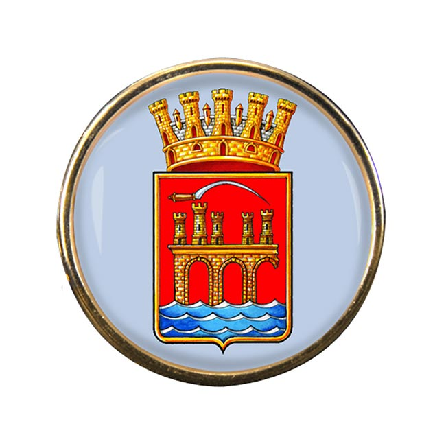 Trapani (Italy) Round Pin Badge