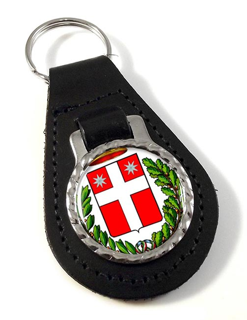 Treviso (Italy) Leather Key Fob