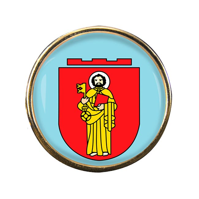 Trier (Germany) Round Pin Badge