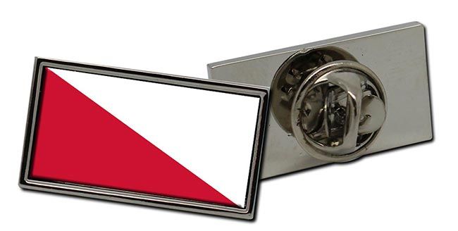 Utrecht Stad (Netherlands) Flag Pin Badge