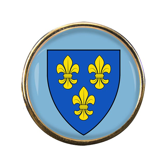 Wiesbaden (Germany) Round Pin Badge