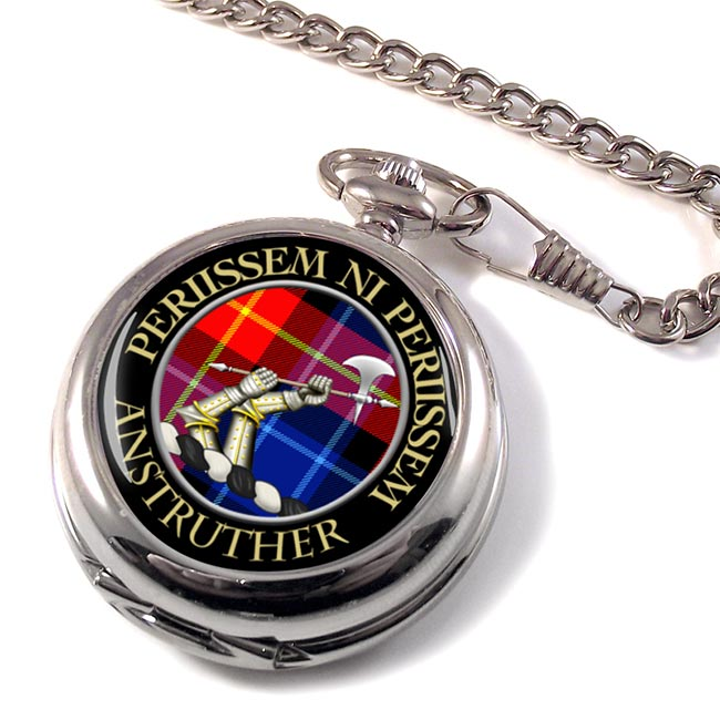 Anstruther Scottish Clan Pocket Watch