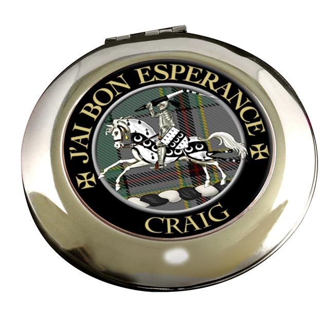 Craig French Scottish Clan Chrome Mirror
