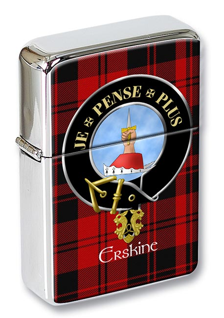 Erskine Scottish Clan Flip Top Lighter