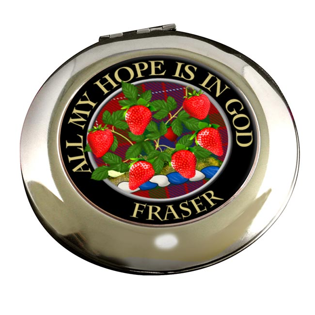 Fraser Scottish Clan Chrome Mirror