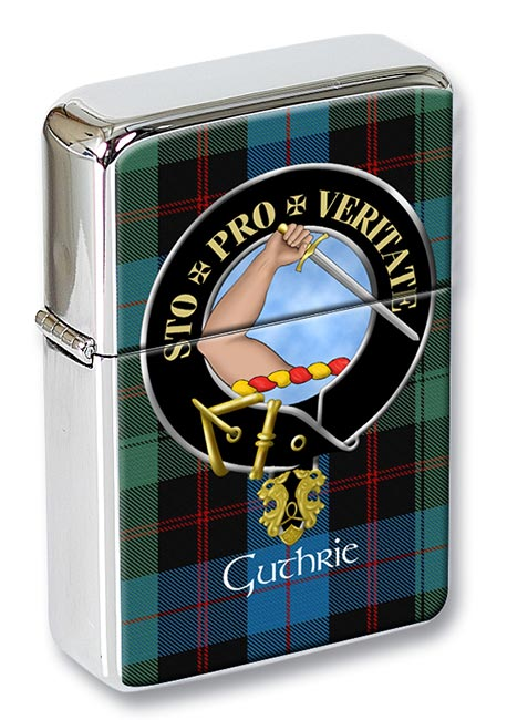 Guthrie Scottish Clan Flip Top Lighter