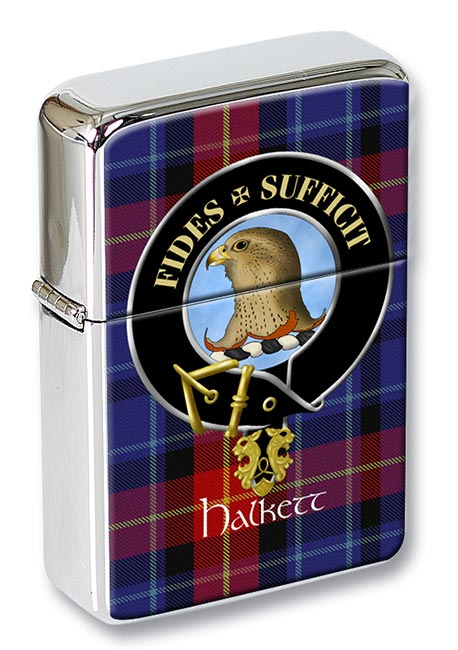 Halkett Scottish Clan Flip Top Lighter