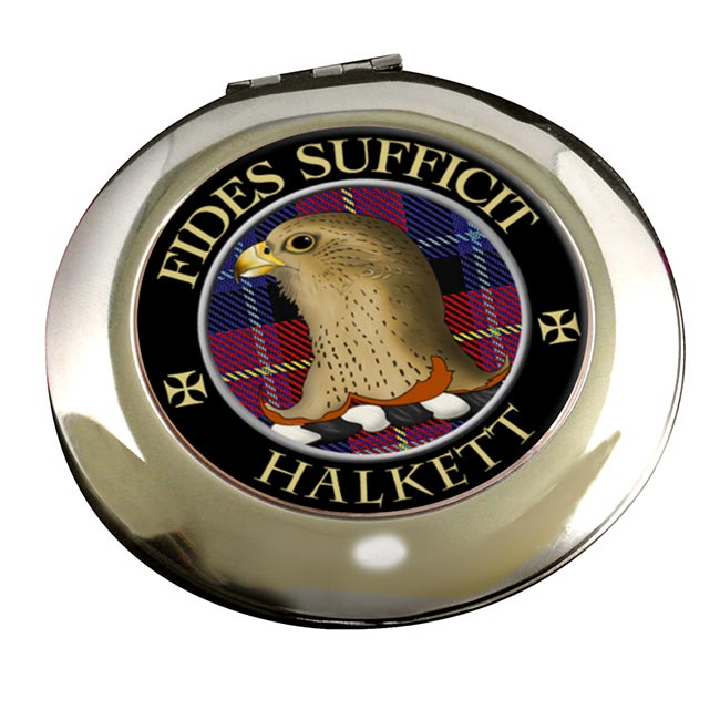 Halkett Scottish Clan Chrome Mirror