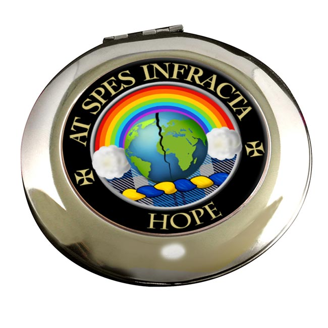 Hope Scottish Clan Chrome Mirror