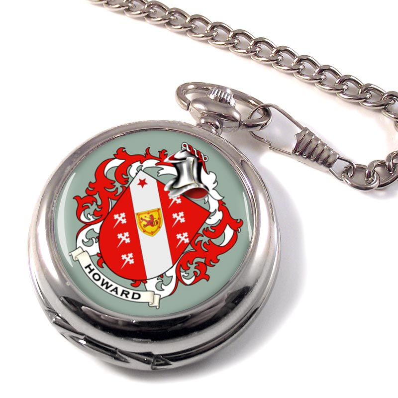Howard Coat of Arms Pocket Watch
