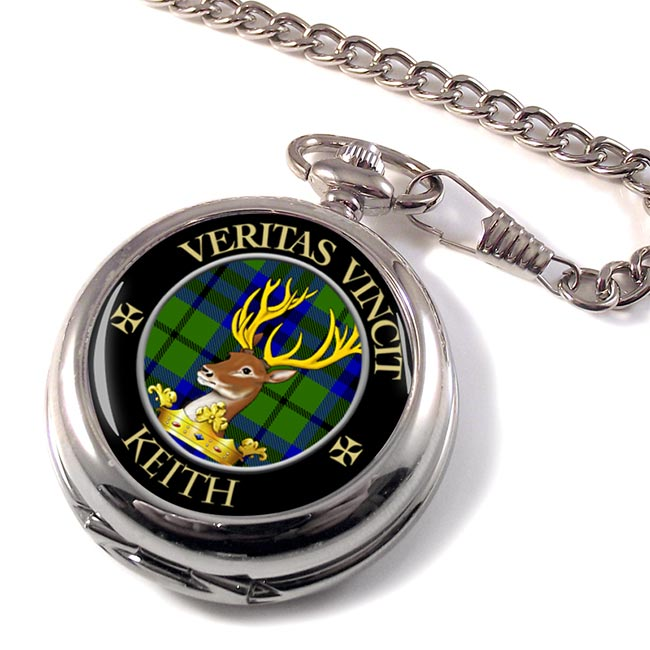 Keith Scottish Clan Pocket Watch