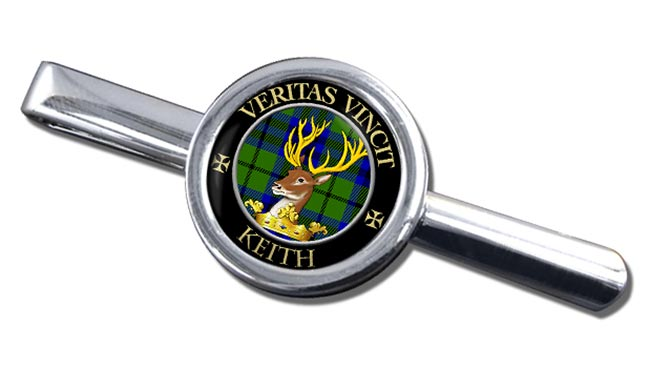 Keith Scottish Clan Round Tie Clip