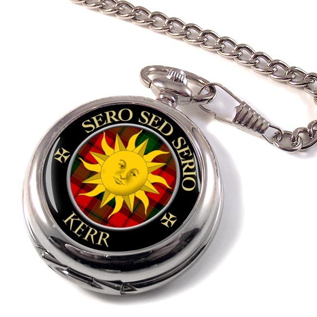 Kerr Scottish Clan Pocket Watch