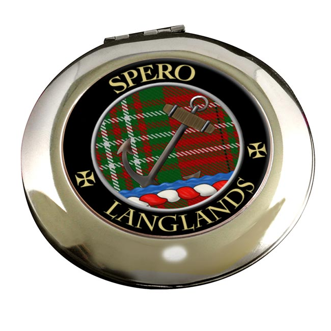Langlands Scottish Clan Chrome Mirror