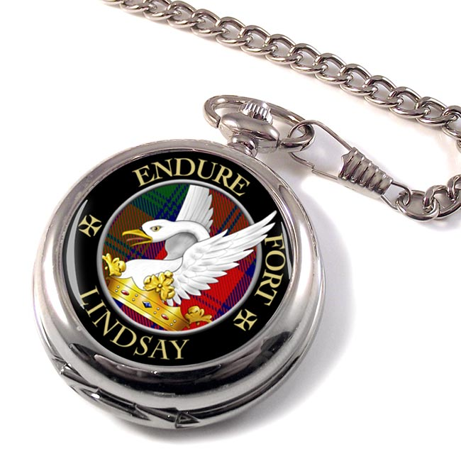 Lindsay Scottish Clan Pocket Watch