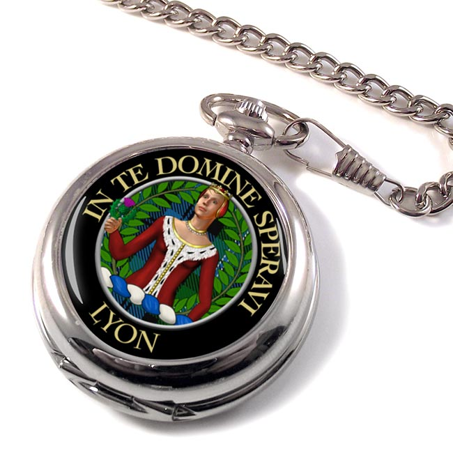 Lyon Scottish Clan Pocket Watch