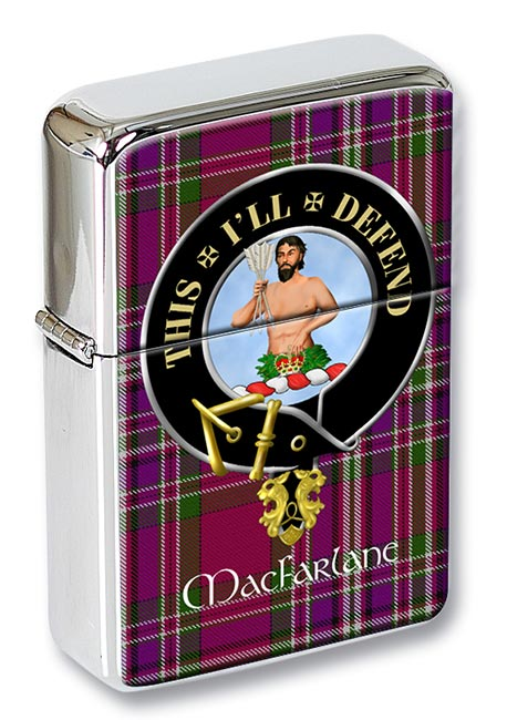 Macfarlane ancient Scottish Clan Flip Top Lighter