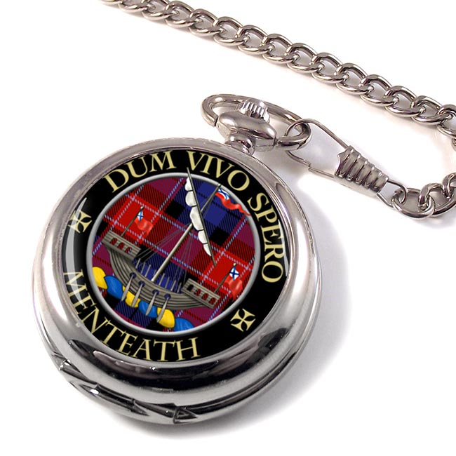 Menteath Scottish Clan Pocket Watch