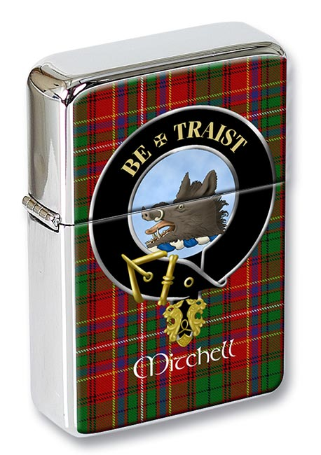 Mitchell of Innes Scottish Clan Flip Top Lighter