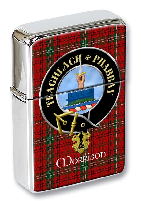 Morrison Scottish Clan Flip Top Lighter