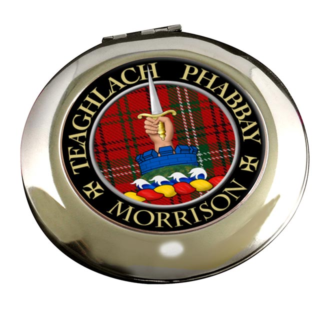 Morrison Scottish Clan Chrome Mirror