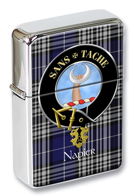 Napier Scottish Clan Flip Top Lighter