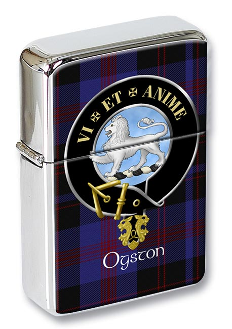 Ogston Scottish Clan Flip Top Lighter