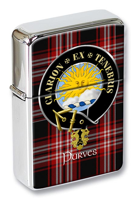 Purves Scottish Clan Flip Top Lighter