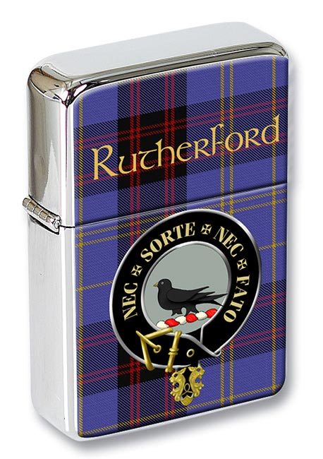 Rutherford Scottish Clan Flip Top Lighter