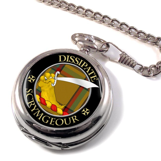 Scrymgeour Scottish Clan Pocket Watch