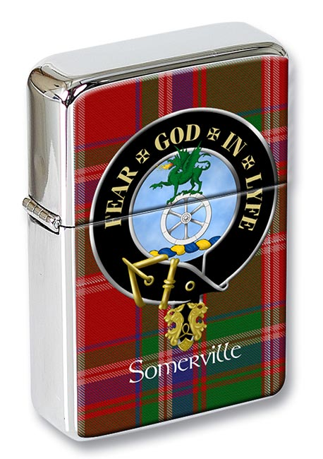 Somerville Scottish Clan Flip Top Lighter