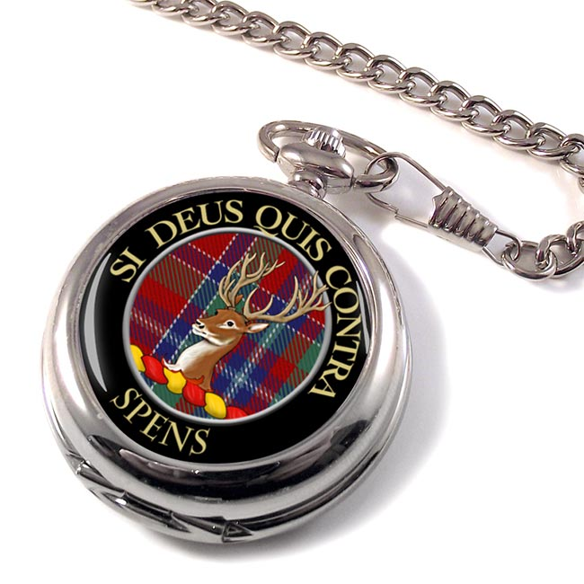 Spens Scottish Clan Pocket Watch