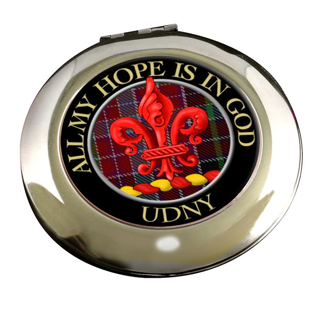 Udny Scottish Clan Chrome Mirror
