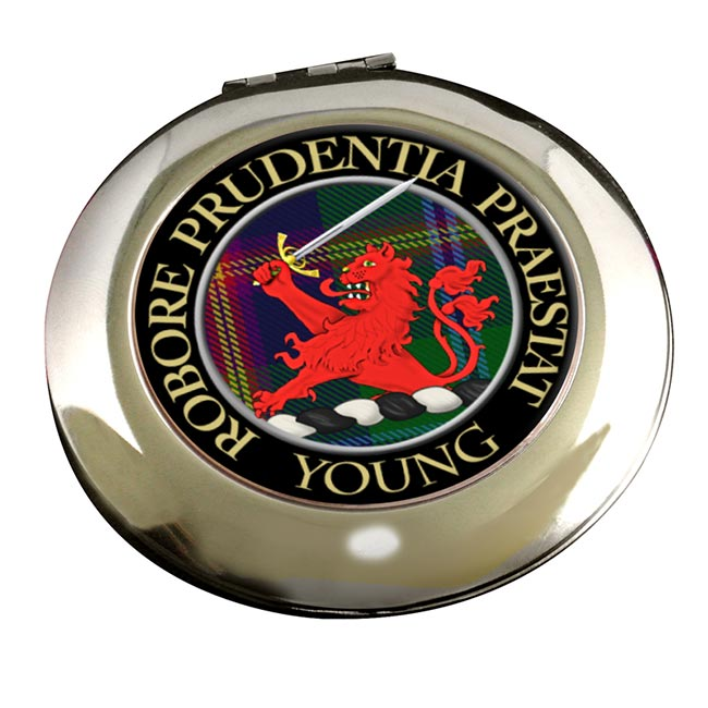 Young Scottish Clan Chrome Mirror