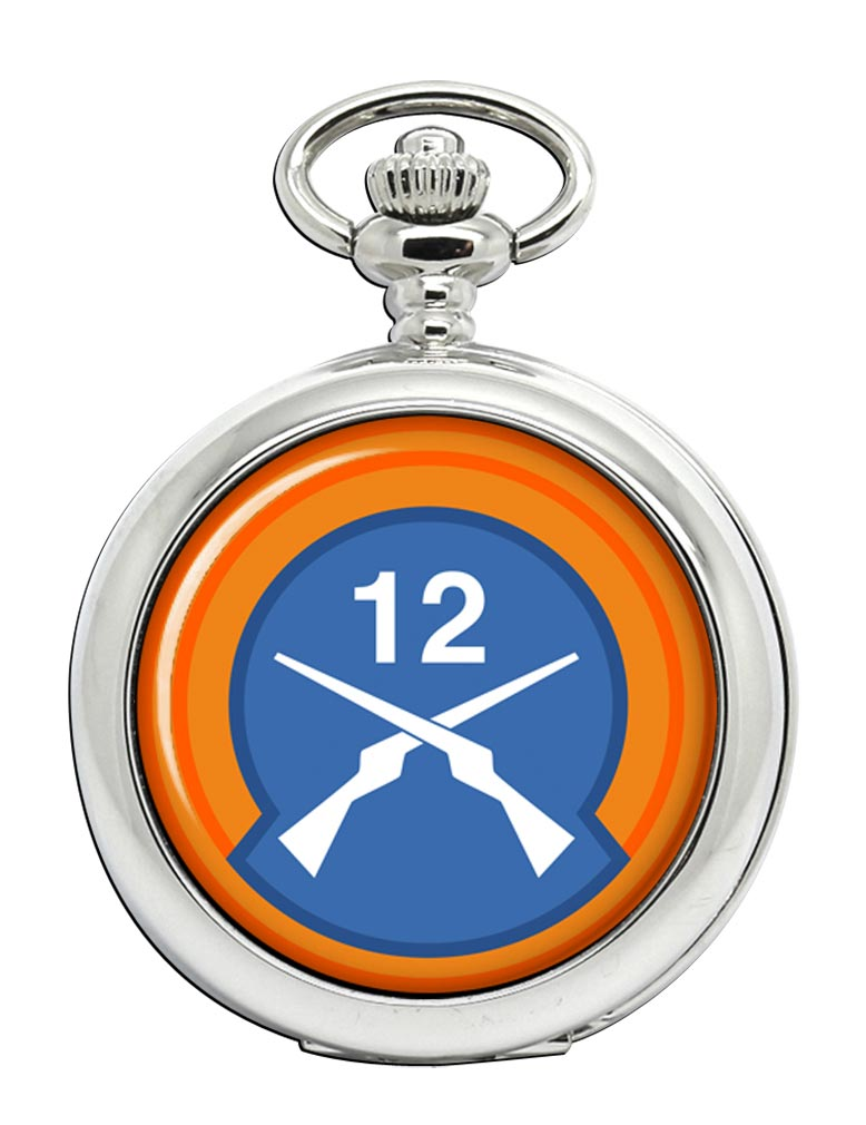 12th Infantry Battalion (Ireland) Pocket Watch