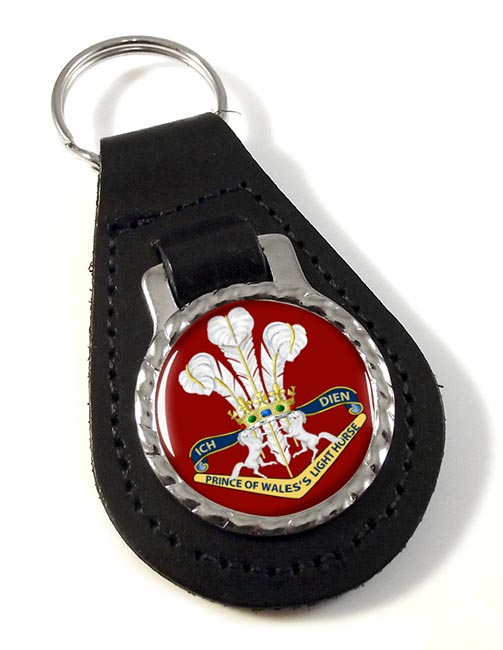 4th-19th Prince of Wales's Light Horse (Australian Army) Leather Key Fob