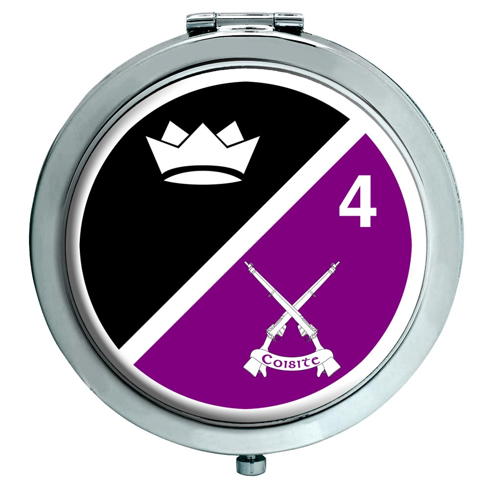 4th Infantry Battalion (Ireland) Chrome Mirror
