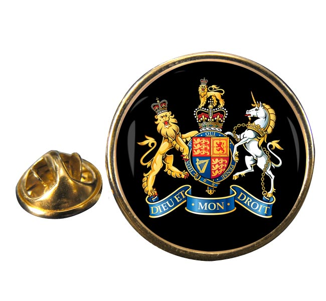 Warrant Officer Round Pin Badge