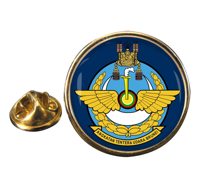 Royal Brunei Air Force Round Pin Badge